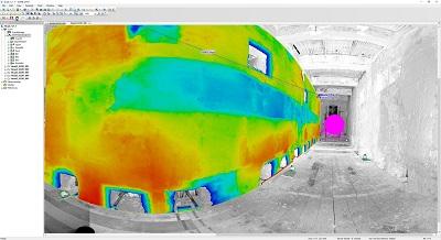 3d analyse maken van muren vloeren en tanks